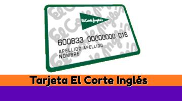 Tarjeta El Corte Inglés