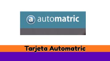 Tarjeta Automatric
