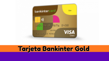 Tarjeta BankinterCard Oro