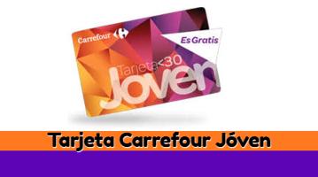 Tarjeta Carrefour Joven