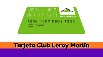 Tarjeta Club Leroy Merlín