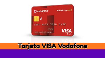 Tarjeta Visa Vodafone