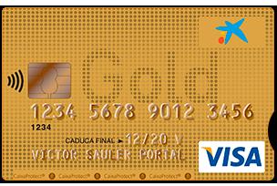 Tarjeta Visa Oro La Caixa