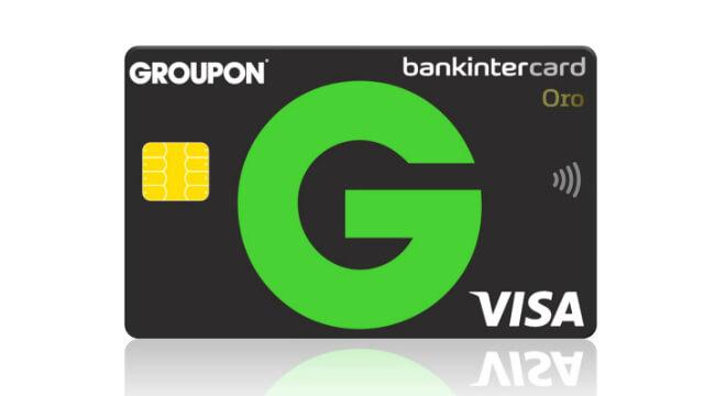 Tarjeta Groupon Bankinter Mastercard
