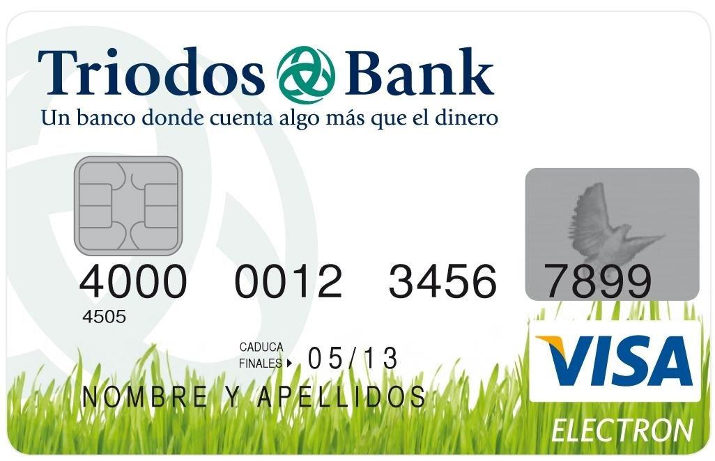 Tarjeta Triodos Bank