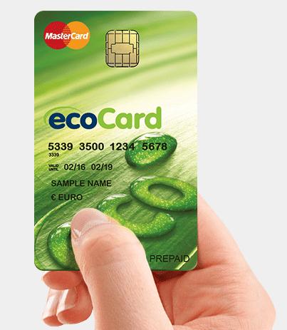 tarjeta Ecocard