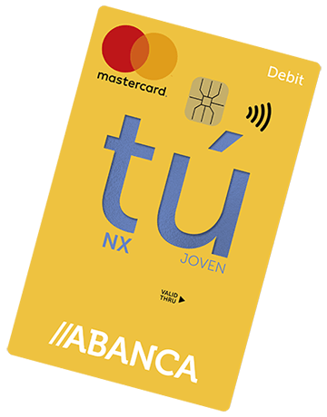 Tarjeta Abanca Mastercard Tú NX
