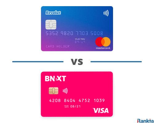 Comparativa tarjeta Revolut vs Bnext