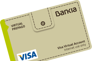 Tarjeta Virtual de Bankia