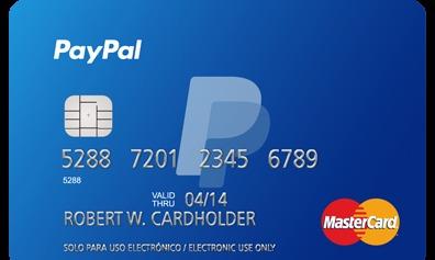 Tarjeta PayPal España