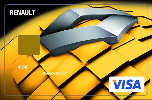 Tarjeta Visa Renault Bankinter