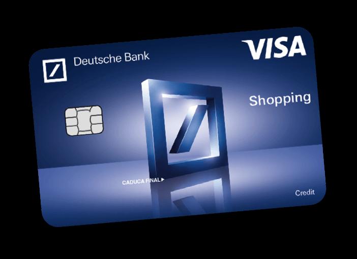 Tarjeta Visa Shopping de Deutche Bank