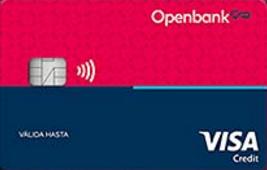 Tarjeta de crédito Open credit de Openbank