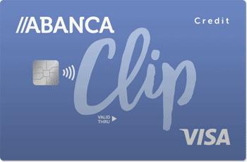 Tarjeta de crédito Visa clip de Abanca