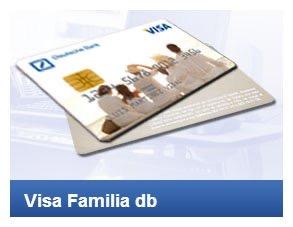 Tarjeta Visa familia DB Deutche Bank