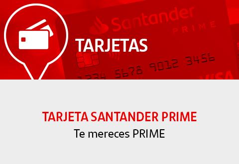 Tarjeta Santander Prime Banco Santander
