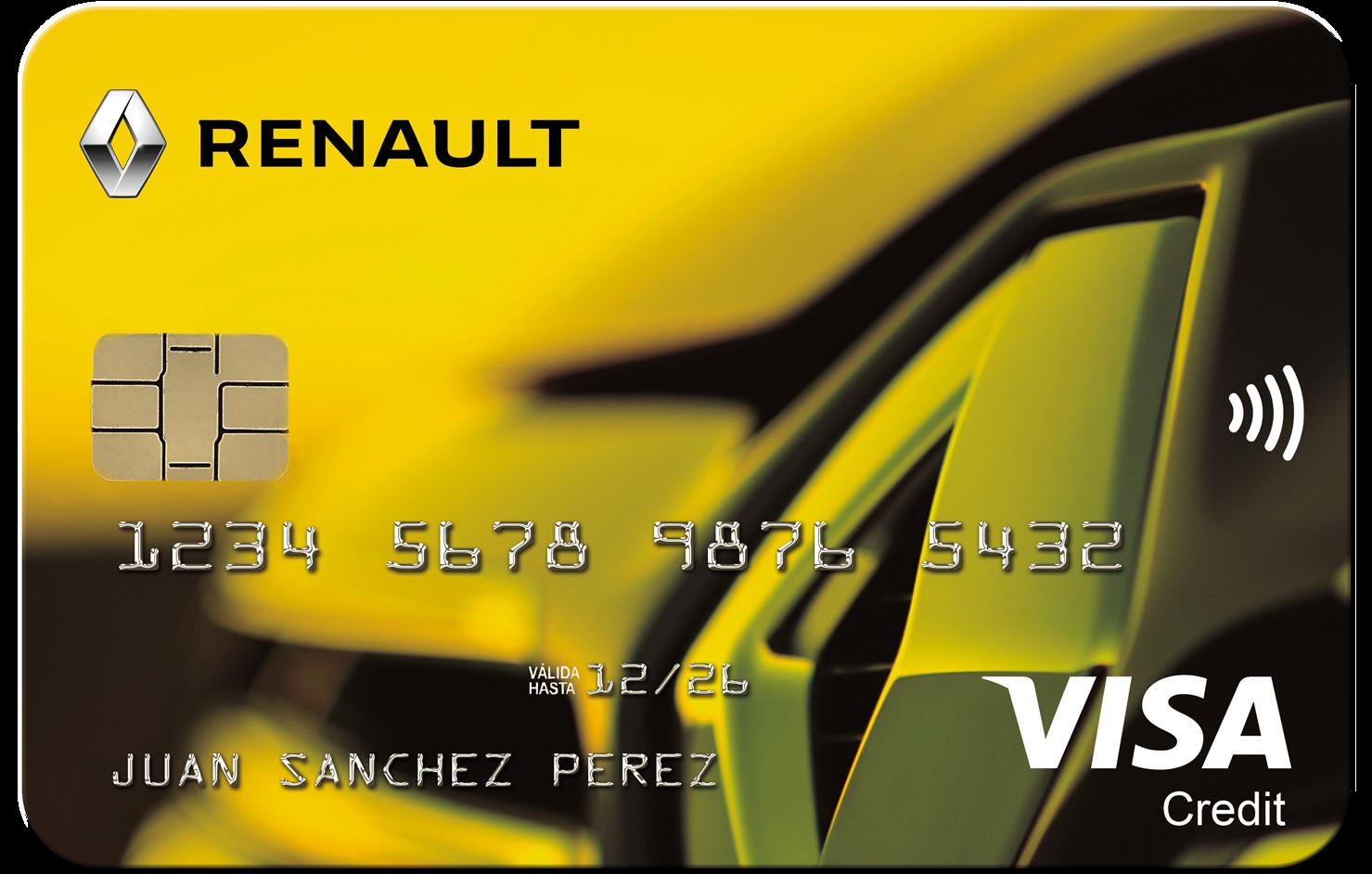 Tarjeta Renault Bankinter