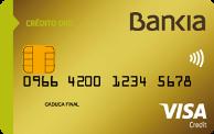Tarjeta de crédito Oro Bankia