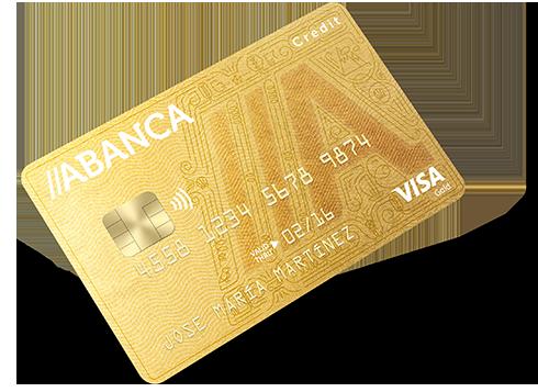 Tarjeta de crédito Visa Oro Abanca