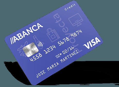 Tarjeta Visa Proyecta Abanca