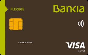 Tarjeta Flexible Bankia