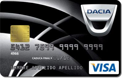 Tarjeta Dacia Bankinter