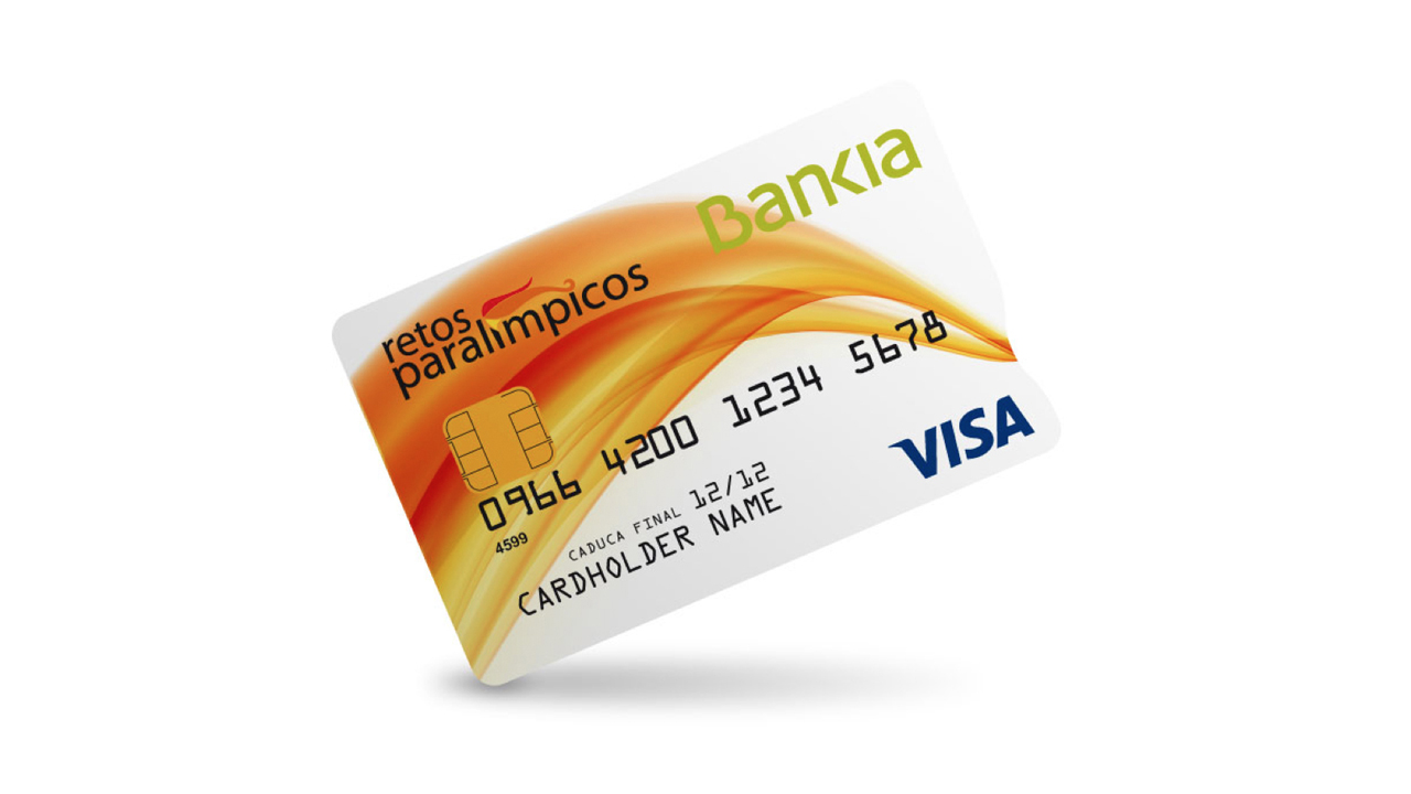 Tarjeta crédito Paralímpicos Bankia