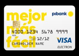 Tarjeta de crédito Pibank
