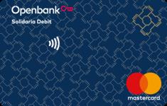 Tarjeta de debito Solidaria Openbank