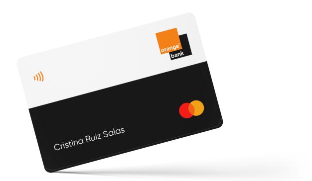 Tarjeta débito Orange Bank
