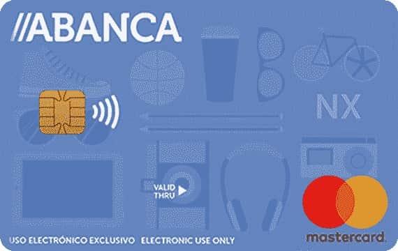 Tarjeta Visa débito Abanca