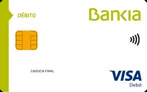 Tarjeta de debito particulares Bankia