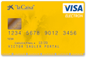 Visa Electrón CaixaBank