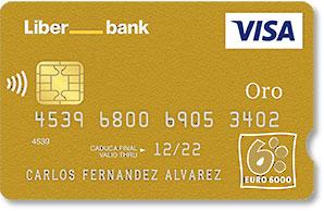 Visa Oro LiberBank