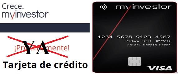 Tarjeta de débito Mylnvestor