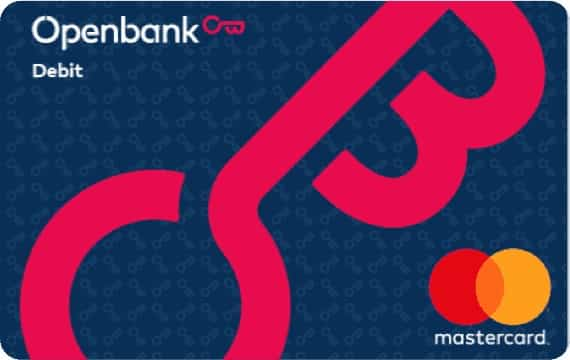 Tarjeta débito Minicard Openbank