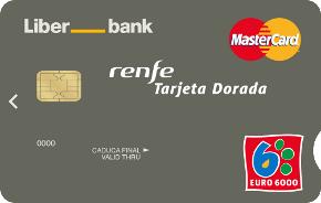 MasterCard Classic Dorada Renfe