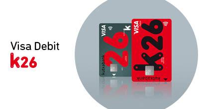 Visa Debit k26