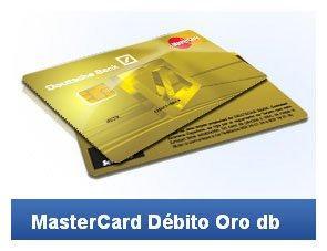 Mastercard Débito Oro DB