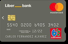 Tarjeta de crédito MasterCard Classic LiberBank