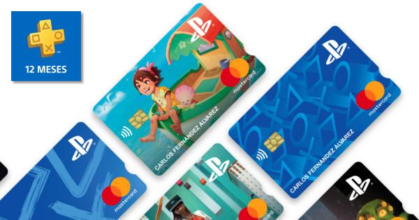 Tarjeta débito PlayStation