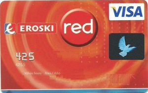 Tarjeta Eroski Red Visa